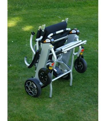 Silla de ruedas electrica plegable baterias litio