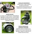 Libercar Scooter Grand Classe 500 W.  Hasta 150 kg