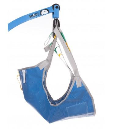 Arnes piernas juntas malla plastificada