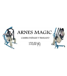 Arnes Magic cambiapañales-traslado.