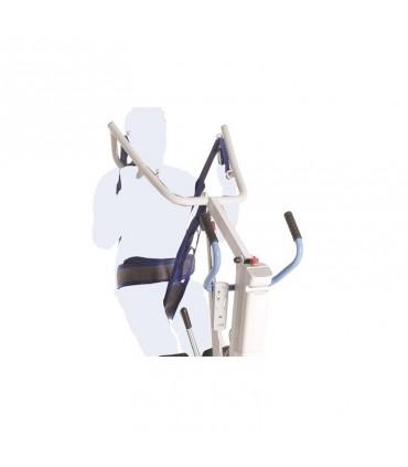 Arnes dorsal pelvico para grua vertical