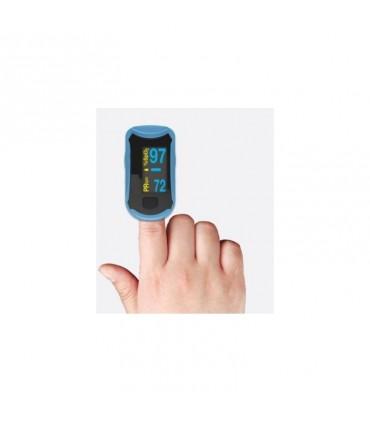 Pulsioximetro de dedo con pantalla oled