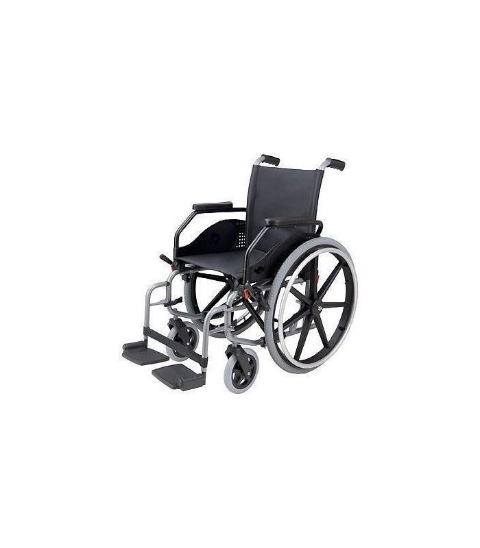 Silla de ruedas acero ligera