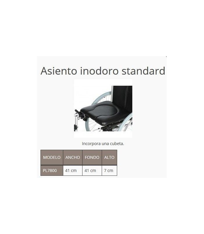 Asiento inodoro standard pl7800