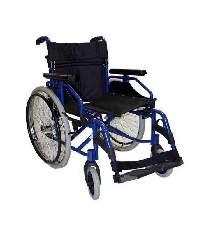 Comprar silla de ruedas aluminio saby r 600 sillas de ruedas plegables ligeras aluminio movilidad - Sillas de ruedas ligeras ...