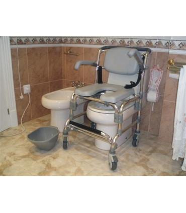 Silla para ducha y wc 2208