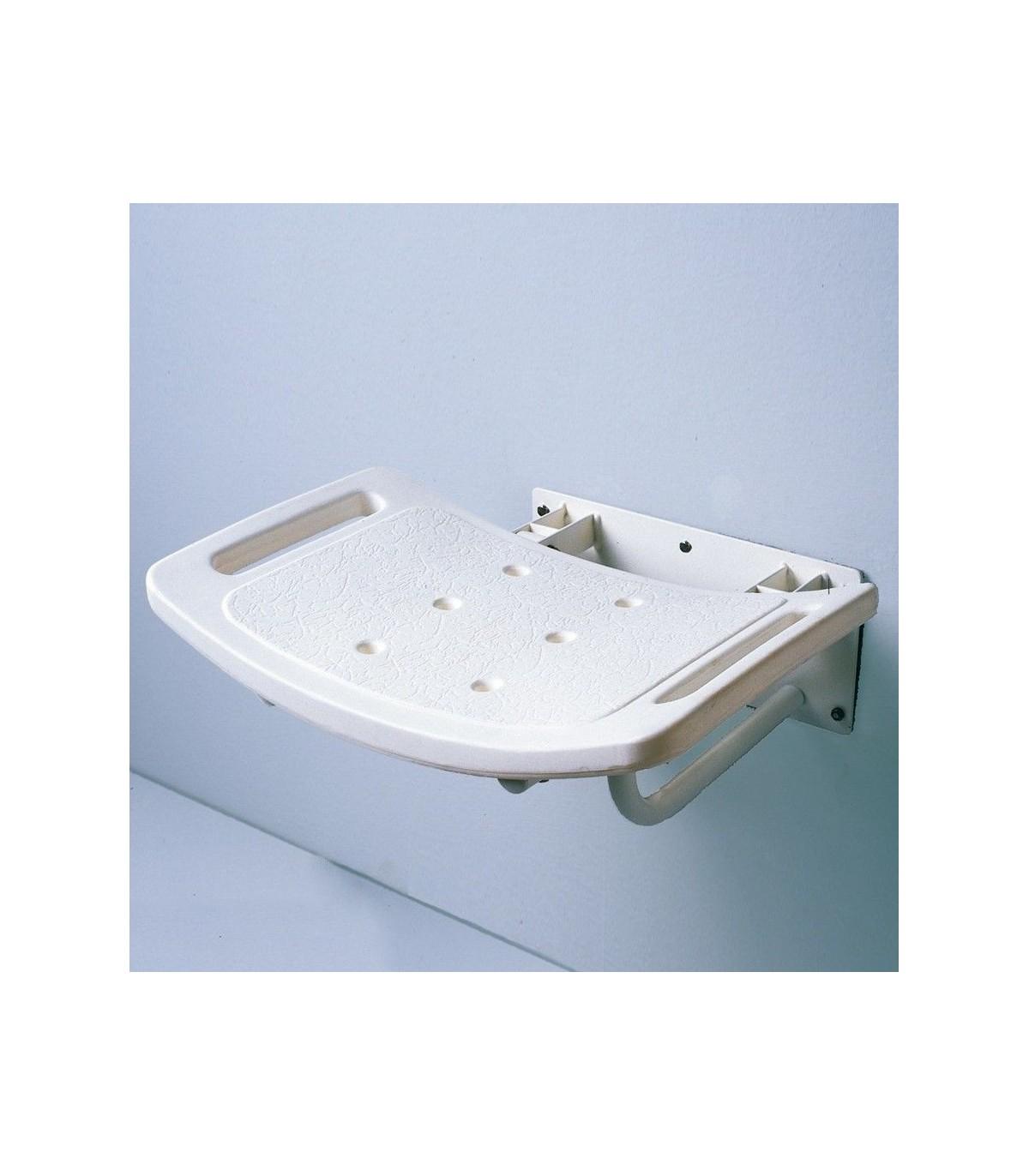 silla de ducha plegable anclada